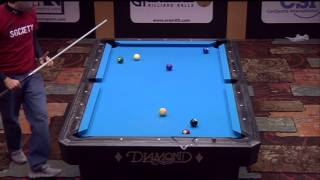 2013 US Bar Table Championships 9 BALL: Rodney Morris Vs Oscar Dominguez
