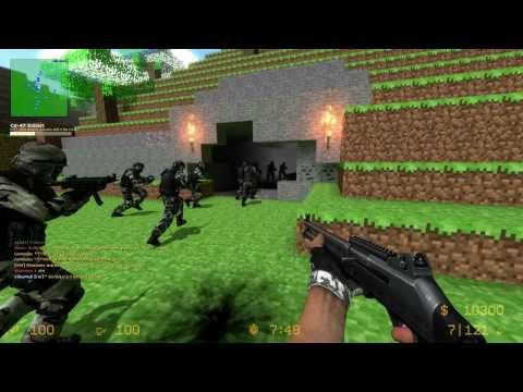 counter strike:source - PF VERSION: http://www.youtube.com/watch?v=RRSRkDaMIFg ADVENTURES VERSION: http://www.youtube.com/watch?v=TrWuVRhxoDk Counter-Strike: Source - ze_minecraft_v...