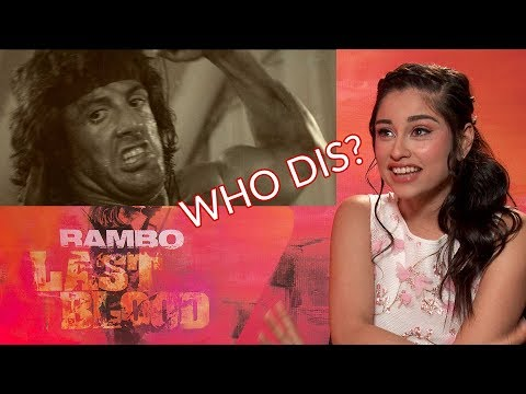 Sylvester Stallone's Rambo Last Blood Costar Yvette Monreal Didn't Know He Was Rambo