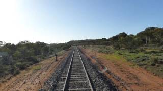 North Yelta Australia  City new picture : On board RM 58 as it approached Yelta.