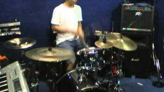 eggy ramandha - Agnes Monica - Paralyzed (drum cover)