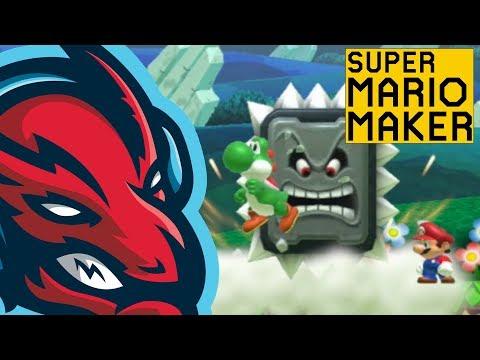 Twitch - [LIVE ] Mario Maker Super Expert Runs