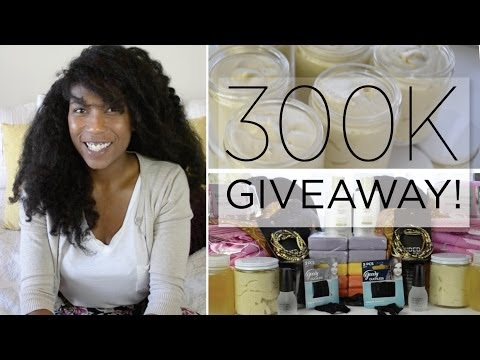 300k - WINNERS BELOW!! Two (2) FIRST PRIZE Youtube Winners!: Please message me through my Naptural85 Youtube Channel with the address you would like me to send it t...