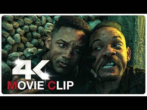 Young Will Smith vs Old Will Smith - Fight Scene | GEMINI MAN (2019) Movie CLIP 4K