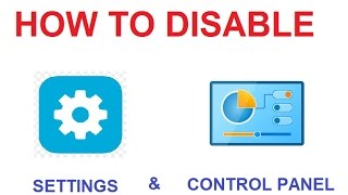 To prevent other user from setting your Windows 8 & Windows 10 PC. Disables all Control Panel programs and the PC settings app. This setting prevents Control.exe and SystemSettings.exe, the program files for Control Panel and PC settings, from starting. As a result, users cannot start Control Panel or PC settings, or run any of their items.This setting removes Control Panel from:The Start screenFile ExplorerThis setting removes PC settings from:The Start screenSettings charmAccount pictureSearch resultsIf users try to select a Control Panel item from the Properties item on a context menu, a message appears explaining that a setting prevents the action.