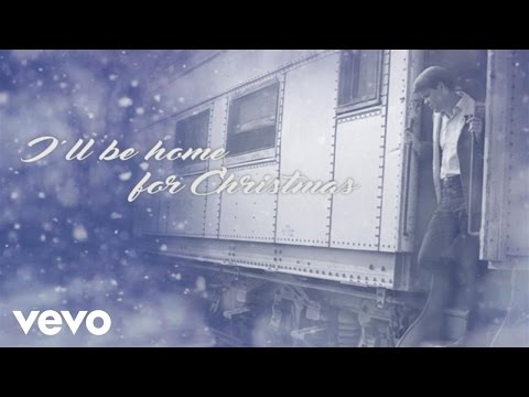 I'll Be Home for Christmas Lyric Video