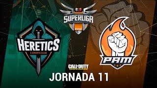 TEAM HERETICS VS PAM ESPORTS - #SuperligaOrangeCOD11 - Jornada 11 - T12