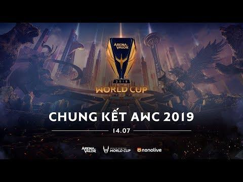 VIỆT NAM vs ĐÀI BẮC TRUNG HOA - CHUNG KẾT AWC 2019 - Thời lượng: 6:37:45.