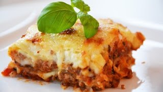 Cooking Lasagne Bolognese