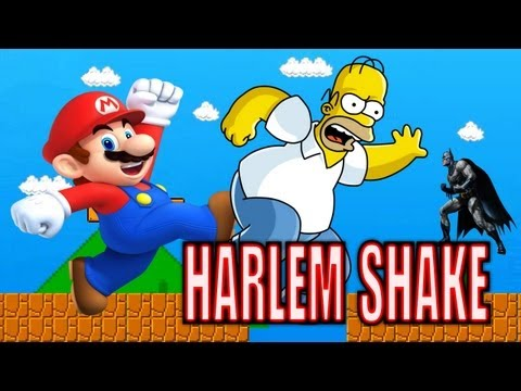 HARLEM SHAKE Super Mario Bros edition  FEAT. Batman