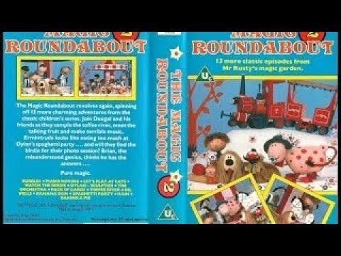 The Magic Roundabout (1989, UK VHS)