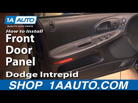 How To Remove Install Front Door Panel Dodge Intrepid 1998-04 1AAuto.com