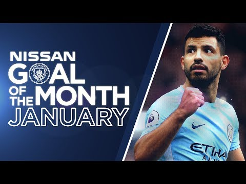 Video: JANUARY GOAL OF THE MONTH | Aguero, De Bruyne & more.