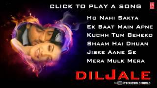 Diljale Movie Full Songs   Ajay Devgn, Sonali Bendre   Jukebox