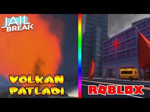 JAILBREAK VOLKAN PATLADI VE AMBULANS GELDI / Roblox Jaılbreak UPDATE / Roblox Türkçe / FarukTPC