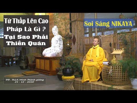 Soi Sáng NIKAYA – Từ Thấp Lên Cao – Pháp Là Gì ? Tại Sao Phải Thiền Quán ?