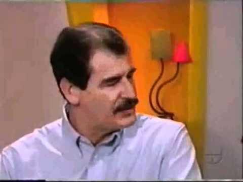 Armando Hoyos Con Vicente Fox