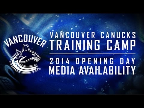 Canucks - Vancouver Canucks players and management kick off 2014 training camp with a season opening press conference. If you want to keep up to date with all the latest news, highlights, features,...