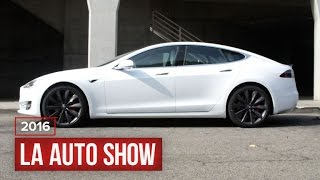 Tesla P100D is brough to life with a glass roof by Roadshow
