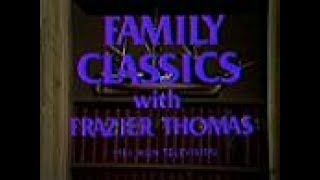 """Here's the opening of the Family Classics presentation of The Last of the Mohicans on WGN Channel 9. Featuring Frazier Thomas as host.The Family Classics theme song was called """"Moviescope"""" and was a piece of library music composed by Dennis Berry. It was originally released on the Berry/Conroy label.This aired on local Chicago TV on Sunday, October 23rd 1983 at 3:30pm.About The Museum of Classic Chicago Television:The Museum of Classic Chicago Television's primary mission is the preservation and display of off-air, early home videotape recordings (70s and early 80s, primarily) recorded off of any and all Chicago TV channels; footage which would likely be lost if not sought out and preserved digitally. Even though (mostly) short clips are displayed here, we preserve the entire broadcasts in our archives - the complete programs with breaks (or however much is present on the tape), for historical purposes. For information on how to help in our mission, to donate or lend tapes to be converted to DVD, and to view more of the 4,700+ (and counting) video clips available for viewing in our online archive, please visit us at:http://www.fuzzymemories.tv/index.php?contentload=donate"""