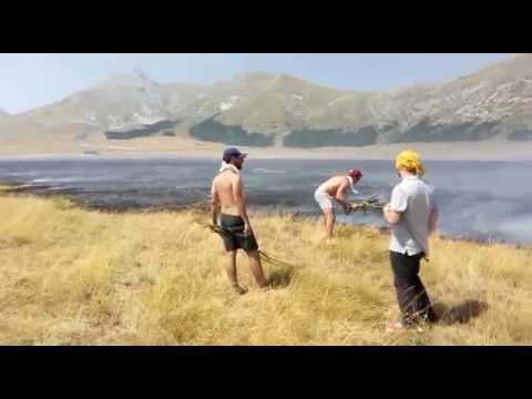 Incendio Campo Imperatore, indagati 14 giovani pescaresi