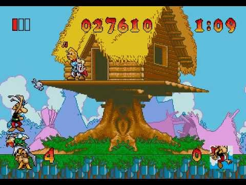 asterix and the great rescue megadrive rom