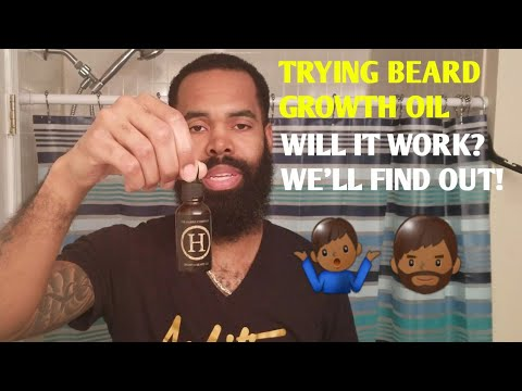 Beard oil - Trying Beard Growth Oil  The Hubris Company