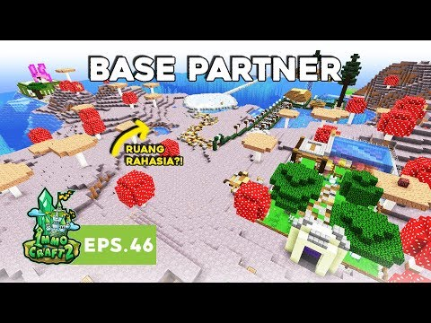 IMMOCRAFT S2 - Mengunjungi Base Partner! (Minecraft Survival Indonesia)
