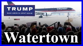 Watertown (NY) United States  city photos : LIVE Donald Trump Watertown New York FULL SPEECH in HD STREAM ✔