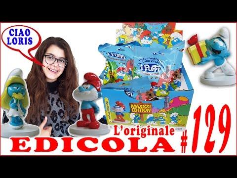 EDICOLA #129: PUFFI in 3D da collezionare Apriamo PACCO da 12 bustine (by Giulia Guerra) (видео)