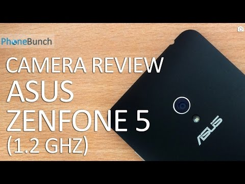 Asus Zenfone 5 (Dual-core 1.2 GHz) Camera Review