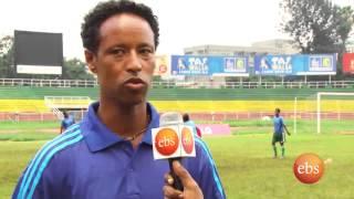 Ebs sport with inspector Asefa Mezgebu