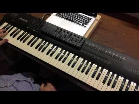 Heart Like Heaven- Hillsong Worship MainStage patch keyboard demo