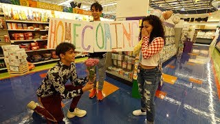 I ASKED HER TO HOMECOMING! (emotional)