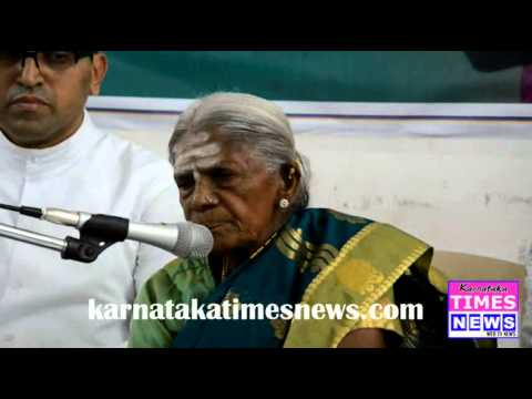 Media Interaction With Salumarada Thimmakka.