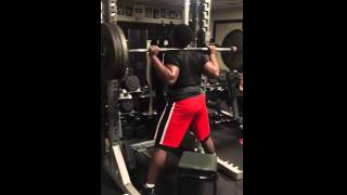 Max Effort Box Squat with Olympic Bar