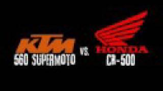 2. Honda CR 500 vs. KTM 560 SMR Hillclimb