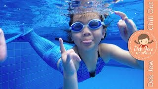 Video เด็กจิ๋วว่ายน้ำด้วยชุดหางนางเงือก Mermaid [N'Prim W289] MP3, 3GP, MP4, WEBM, AVI, FLV Juli 2019