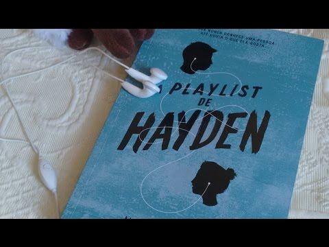 """Resenha do livro """"A Playlist de Hayden"""", da Michelle Falkoff"""