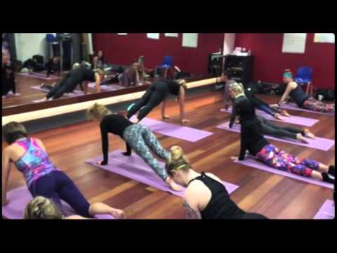 CHICO'S BLOCK FIT INSRTRUCTOR TRAINING YOGA WITH LISA CUERDEN