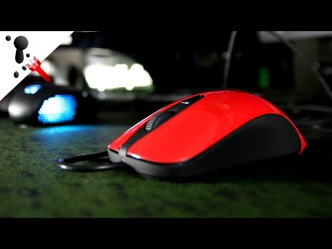 SteelSeries Kinzu V3 Unboxing and Mouse Review (Red Version)