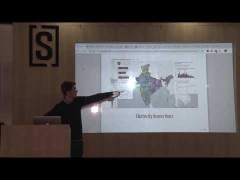 Basics of Geospatial Visualizations & Shiny R package Delhi useR Meetup