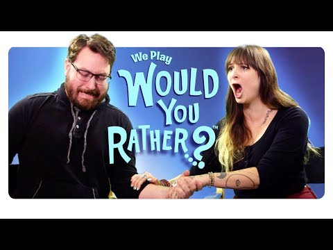 CollegeHumor Plays Would You Rather? (видео)