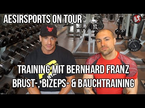 Aesir Sports on Tour #1: Training mit Bernhard Franz – Teil 2