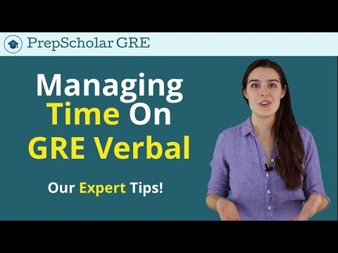 How To Master Your GRE Timing Strategy