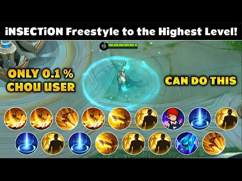 Only 0.1% Of CHOU Users Can do This CHOU FREESTYLE !!   iNSECTiON   MLBB