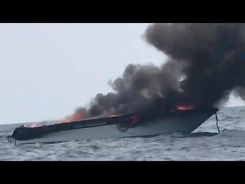 Έκρηξη σε τουριστικό σκάφος στην Ταϊλάνδη