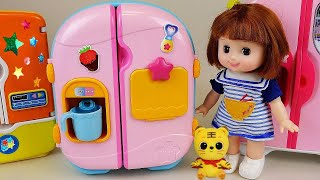 Video Baby Doll Refrigerator and food toys play MP3, 3GP, MP4, WEBM, AVI, FLV Juli 2018