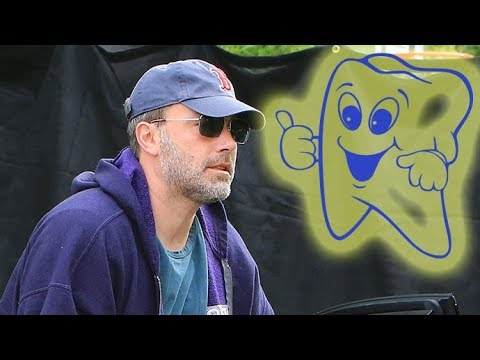 EXCLUSIVE - Ben Affleck Takes A Break From Rehab To Visit The Dentist