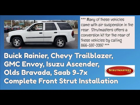 2002-2006 GMC Envoy Front Strut Replacement Installation
